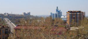 Полины Осипенко 11 - Иркутск - место строительства