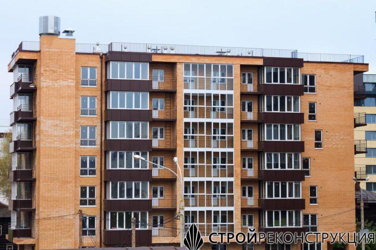 Иркутск, Полины Осипенко 13 - весь комплекс