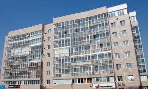 ЖК Парус в Иркутске - лицевая часть