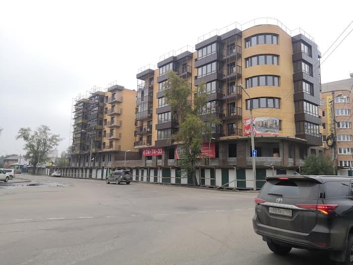 Строящиеся квартиры в ЖК Ангара