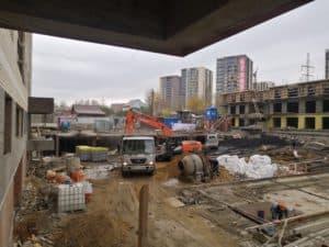 Строительство многоквартирных домов