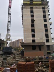 Строится многоквартирный дом