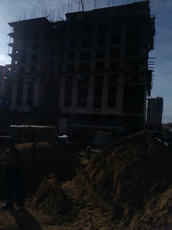 """ЖК """"Квадрум"""" в процессе строительства - ноябрь 2019 года - Иркутск"""