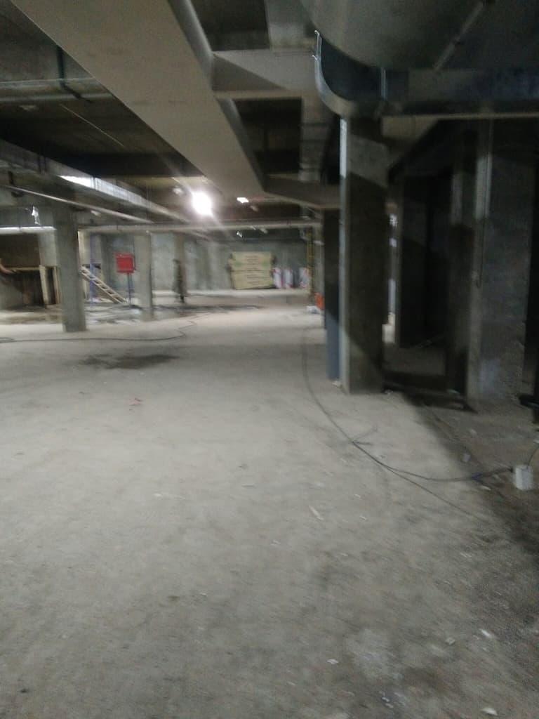 Строительство парковки в ЖК Ангара
