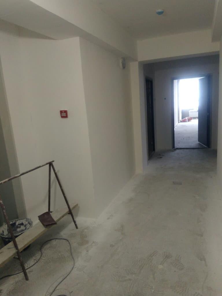 Строительство подъездов в ЖК Ангара