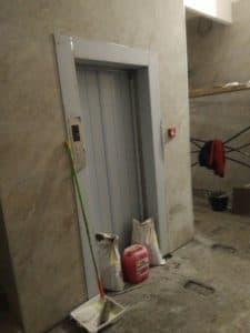 Строительство лифтов в ЖК Ангара