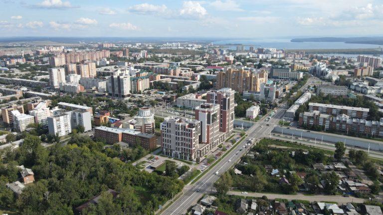 ЖК Скайлайн в Иркутске